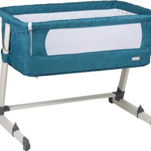 Babygo Together Turquoise Co-Sleeper - Aanschuifwieg