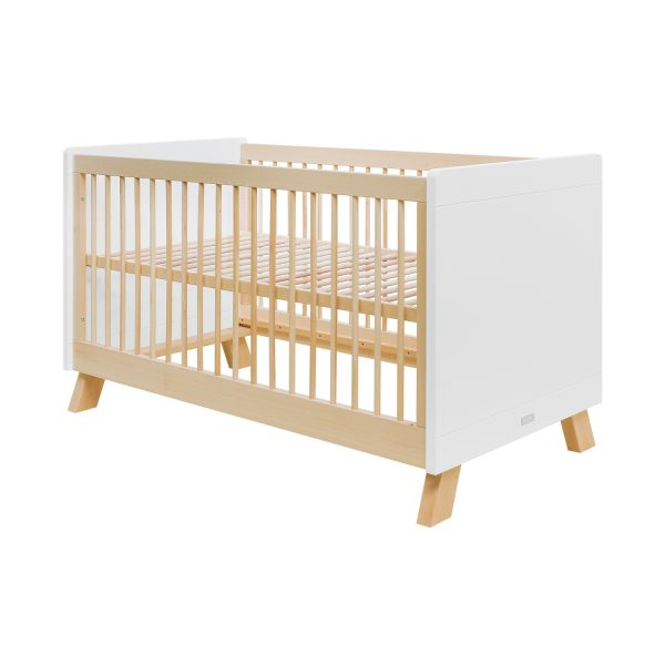 Bopita Lisa Babybed Wit / Naturel 70 x 140 cm