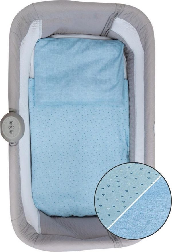 Bubaba 3-delige aankleding Blue voor Co sleepers (o.a. Free to Me wieg)