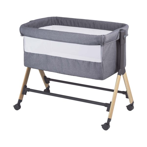 Cam Sempreconte Co-sleeper Wood / Dark Grey