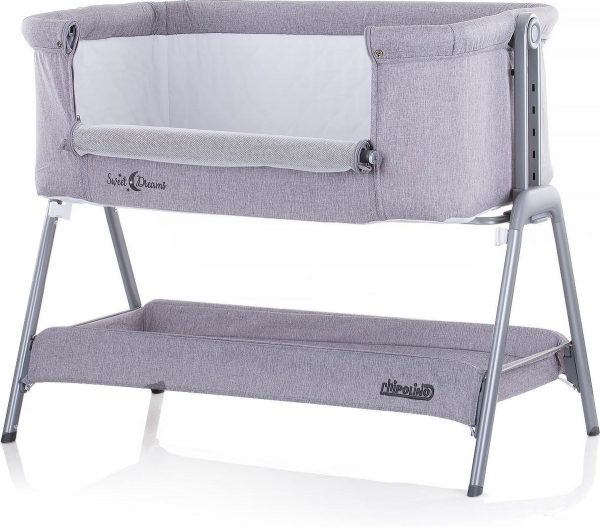 Co-sleeper sweet dreams grijs Chipolino wiegje