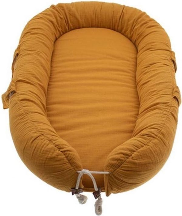 Hi Little One Babynest Pumpkin - Babynestje - Mousseline