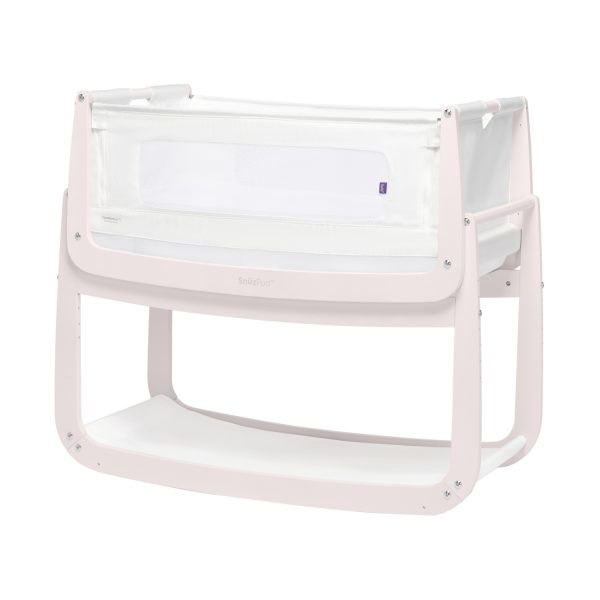 SnuzPod 4 Co-sleeper White / Blush