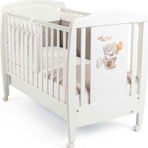 CAM Lettino Baby Cot - Ledikant - ORSO BIANCO - Made in Italy