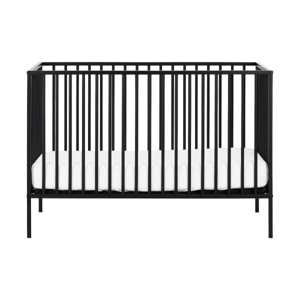 Europe Baby Liam Babybed Black 60 x 120 cm